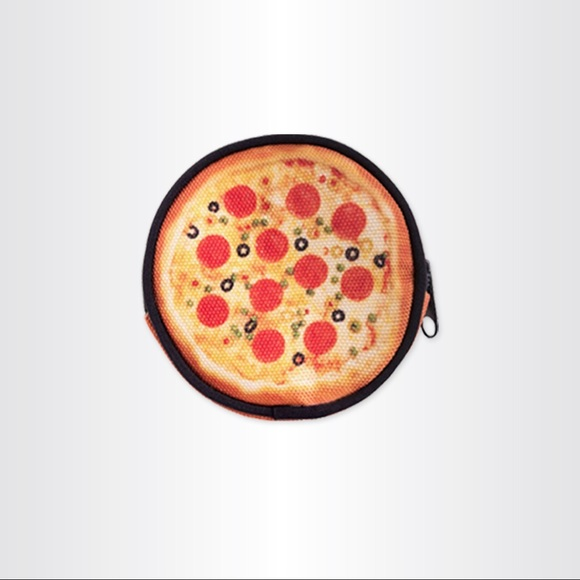 bags pizza coin purse poshmark. Black Bedroom Furniture Sets. Home Design Ideas